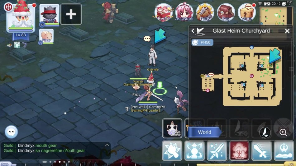 How To Find Soul Of Gabrielle Requiem Final Quest Glast Heim In
