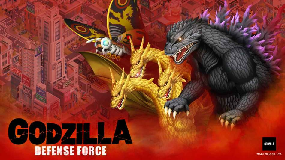 GodZilla Defense Force Smashes on Android and iOS Worldwide