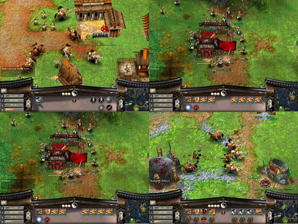 Battle Realms Game Screenshot