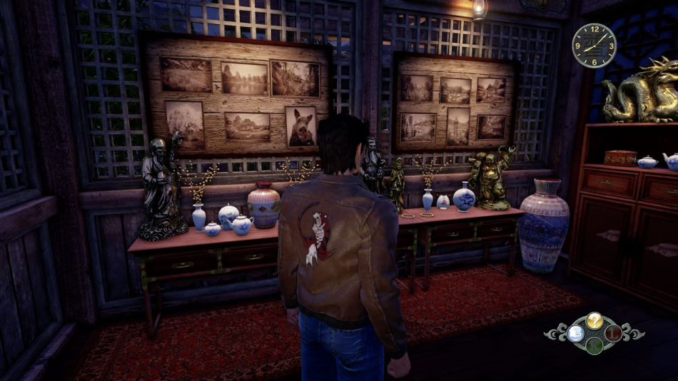 Man yuan temple repository room in Shenmue 3 clue