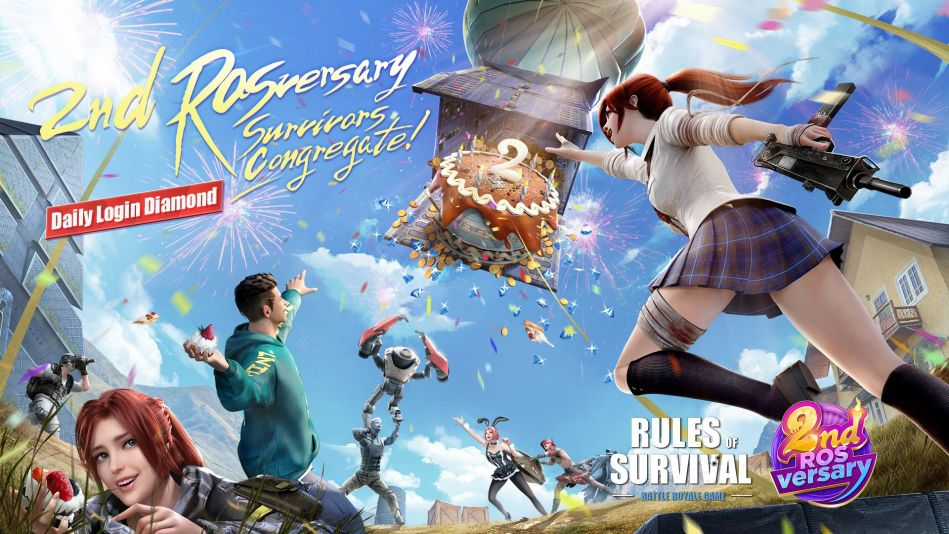 Rules of Survival 2nd rosversary