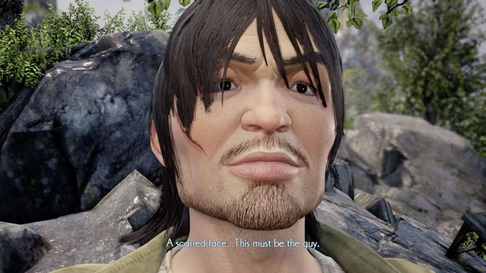 Xuan Scarred Face at Shenmue 3