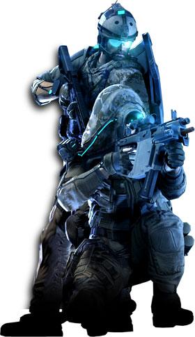 Ghost Recon Online Personagens