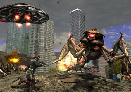 Earth Defense Force: Insect Armageddon Disponível no PC