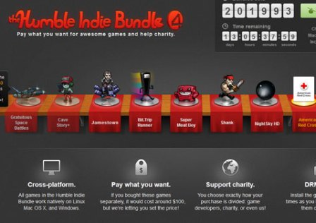 Já está a Decorrer o Humble Indie Bundle 4