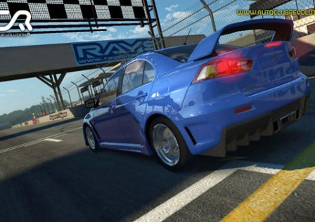 Auto Club Revolution: Corridas No Browser