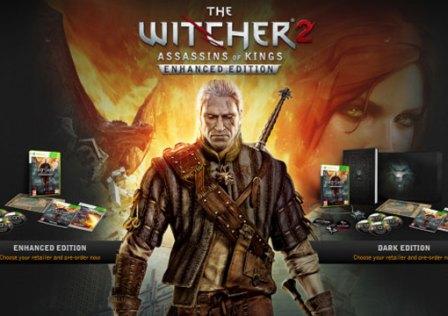 The Witcher 2: Enhanced Edition e Dragon Ball Kinect