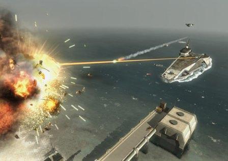 Estratégia e Ação em Carrier Command: Gaea Mission
