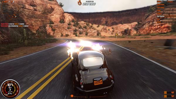 Gas Guzzlers Combat Carnage Screen 2