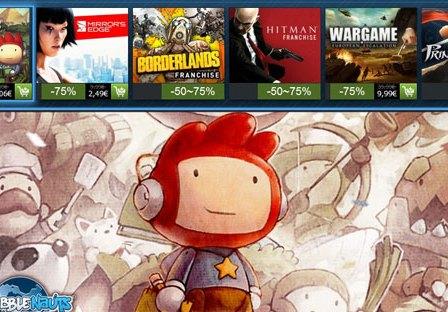 Steam: Arrancou a Mega-Promoção de Natal 2012!