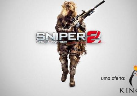 Estamos a Oferecer o Sniper Ghost Warrior 2