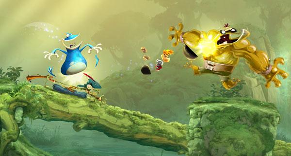 Rayman Legends: 40 Níveis Do Seu Antecessor