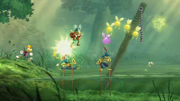 Rayman Legends, F.E.A.R Online e PS4