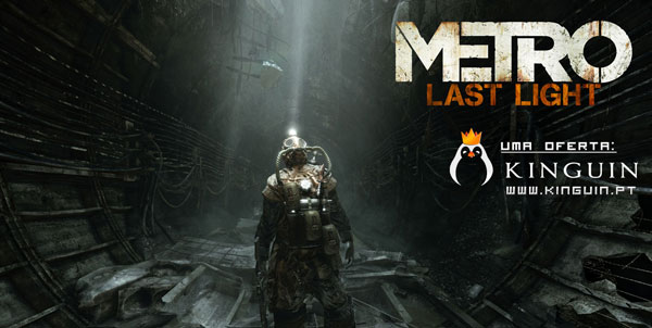 Está a Decorrer a Giveaway de Metro: Last Light