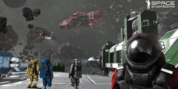 Comunidade: Nova Base e Divertimento no Space Engineers