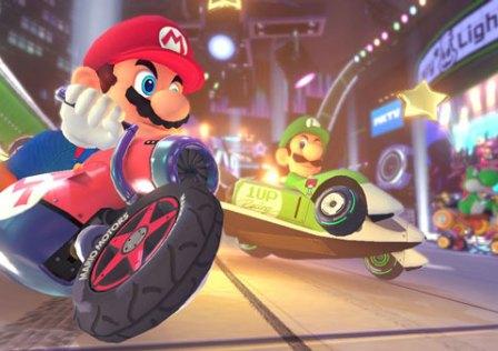 Mario Kart 8 e o Olhar De Morte Do Luigi