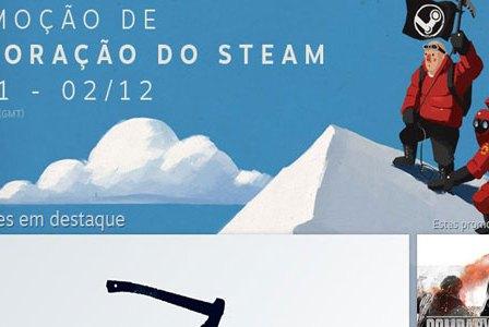 Arrancou a Promoção de Exploração Do Steam