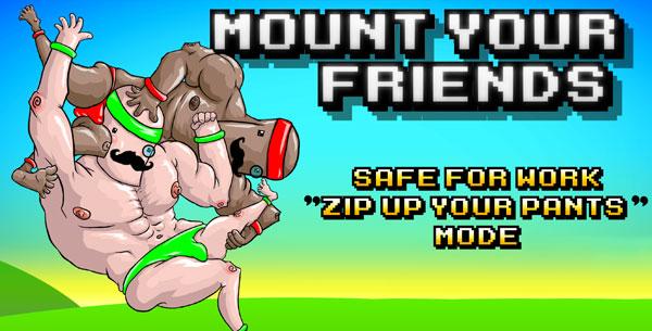 Mount Your Friends é Absurdo mas Super-Divertido