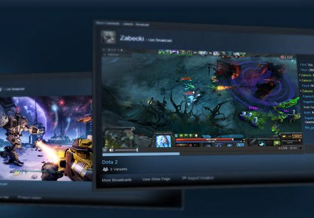 Steam Broadcasting Inicia Beta