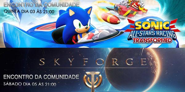 Transmissões Da Semana: Sonic e Skyforge