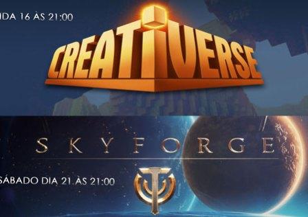 Transmissões da Semana: Creativerse e Skyforge