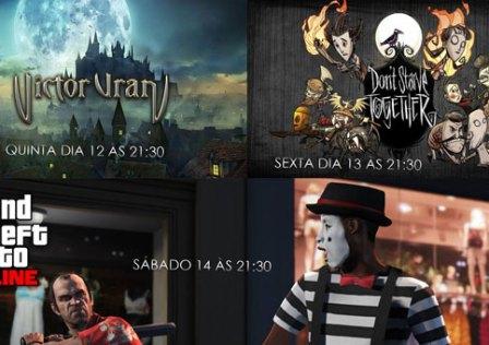 Transmissões da Semana: Victor Vran, Don't Starve Together e GTA V