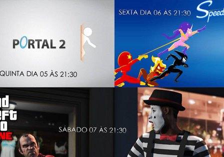 Transmissões da Semana: Portal 2, SpeeDrunners e GTA V