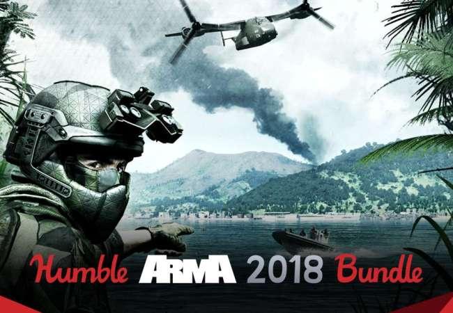 Aproveita o Humble ARMA 2018 Bundle