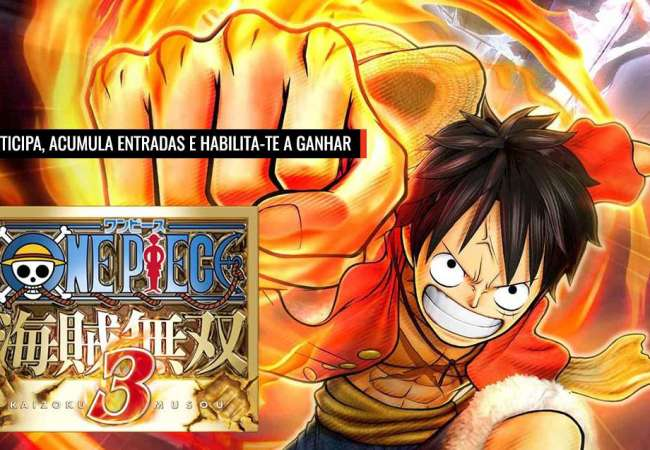 Habilita-te a ganhar o One Piece: Pirate Warriors 3!