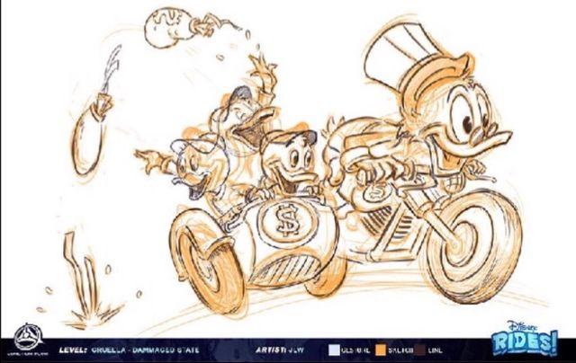 Scrooge Motorcycle