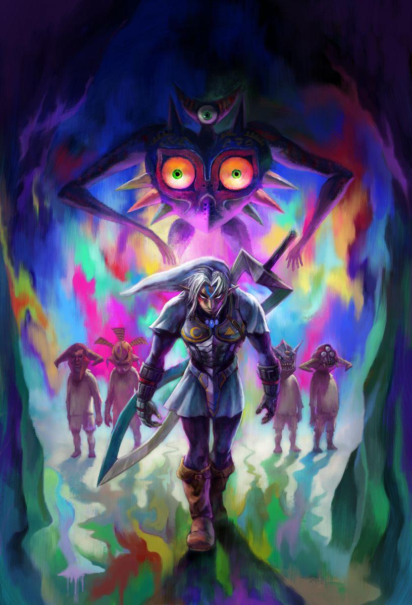 The Legend Of Zelda: Majora's Mask : legend, zelda:, majora's, Legend, Zelda, Majora's, Fixes, Transformations,, Updates, Gaming, Reinvented
