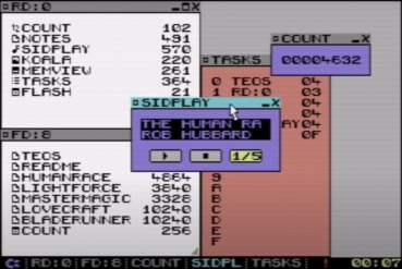TEOS GUI for Commodore 64