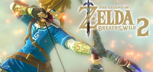 breath of the wild 2 concept art for title screen