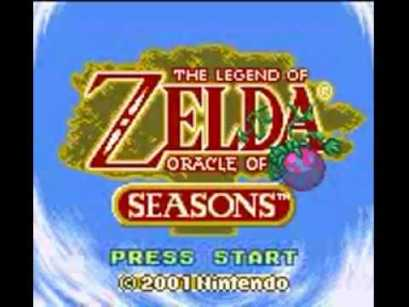 the legend of zelda oracle of seasons logo