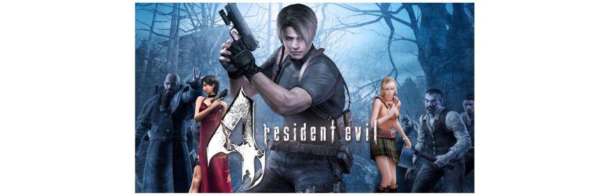 resident evil 4 remake in development logo