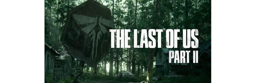 the last of us part 2 title screen logo