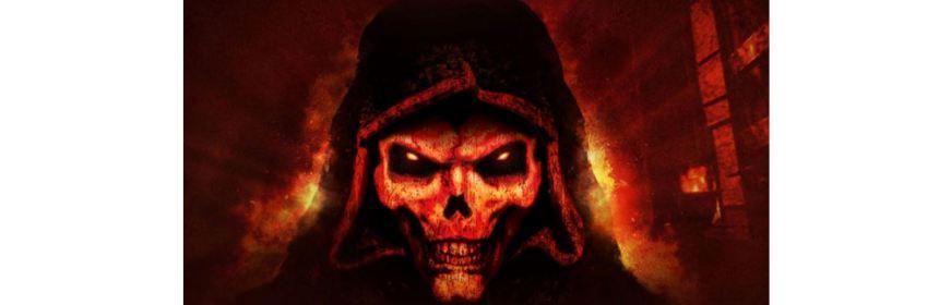 activision games diablo 2 logo