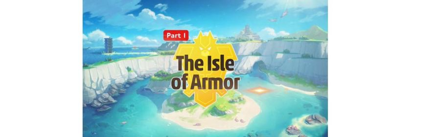 pokemon isle of armor dlc logo