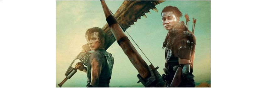 monster hunter box office title screen logo