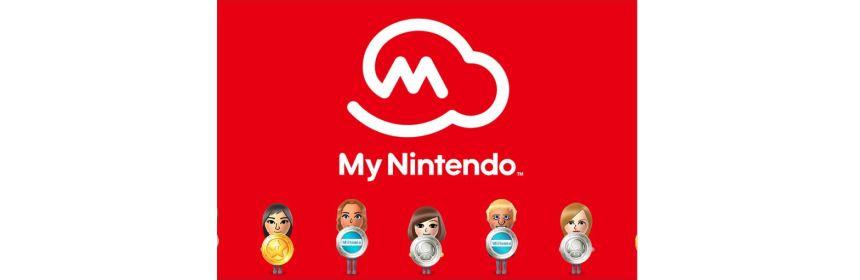 my nintendo rewards title screen logo
