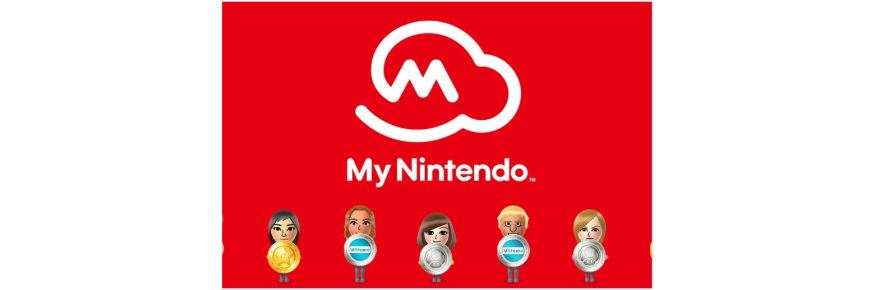 my nintendo rewards title screen logo