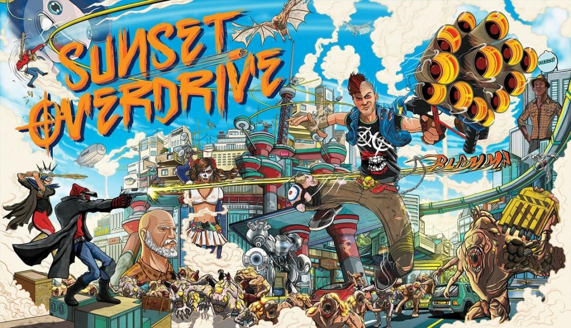 Sony registers a trademark for Sunset Overdrive