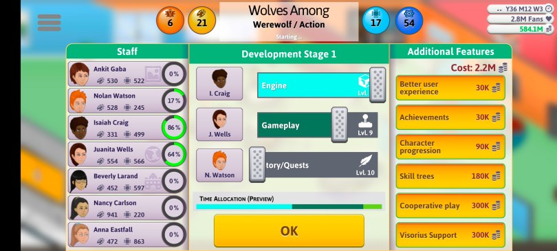 Game Dev Tycoon 2021 Guide Action Game Sliders 1