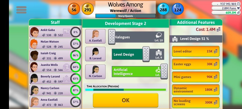 Game Dev Tycoon 2021 Guide Action Game Sliders 2
