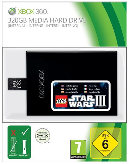 NEW 320GB Media Hard Drive