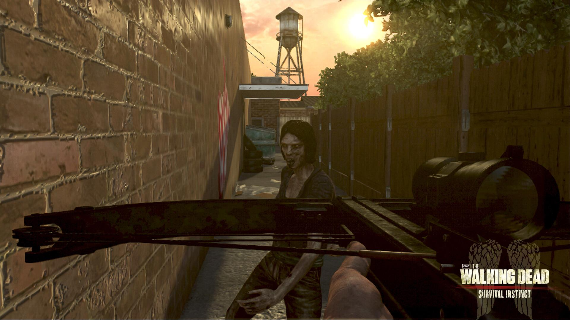 The Walking Dead Survival Instinct Xbox 360 Identi