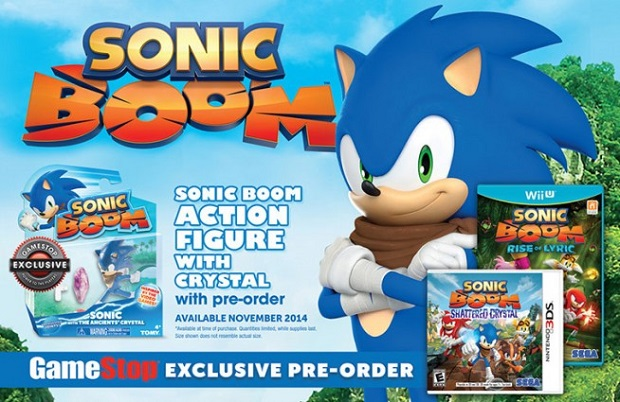 pre ordering either sonic