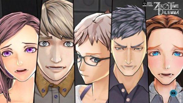 Algumas das personagens do jogo.