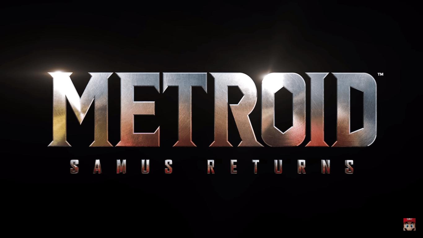 Metroid Samus Returns Announced Gameplay Shown GAMING