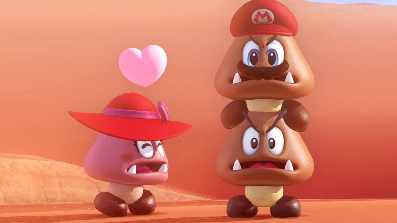 Super Mario Odyssey And The Twisted Truth Behind Goombette GAMING TREND